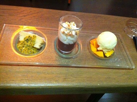 Enghien Les Bains, Frankreich: cafe gourmand