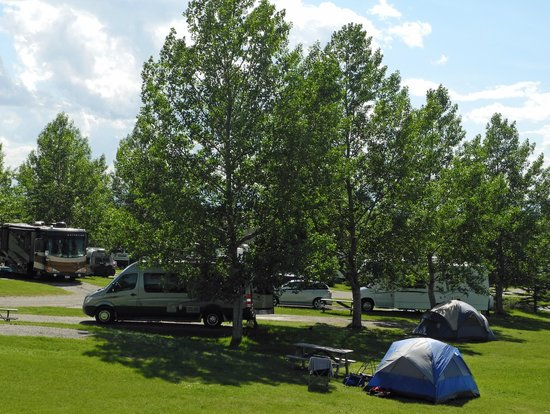 Calaway Park RV Park and Campground - campsites, Aug 2012