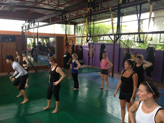 Phuket Cleanse Villa: HIIT training at the gym