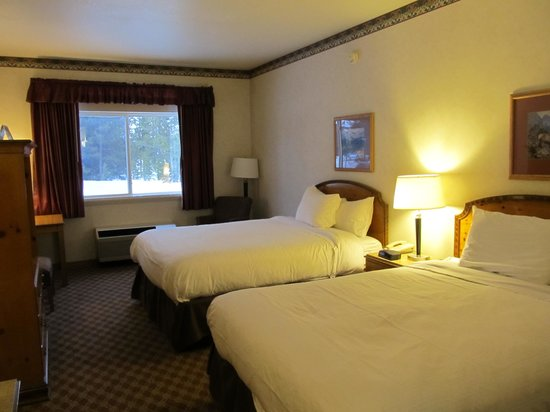 Gray Wolf Inn and Suites: Ground floor room
