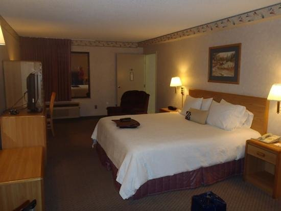 Hampton Inn & Suites Bakersfield North-Airport: bedroom