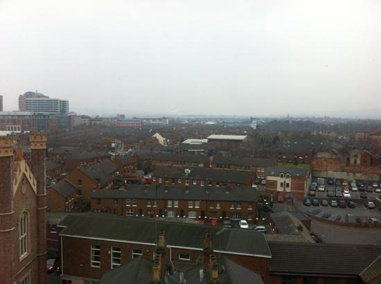 Premier Inn Belfast City Centre Alfred St: view from 7th floor