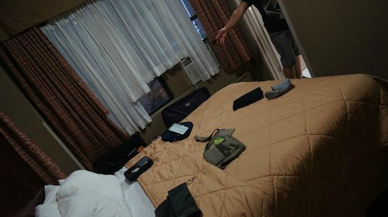 Comfort Inn Manhattan: Our room