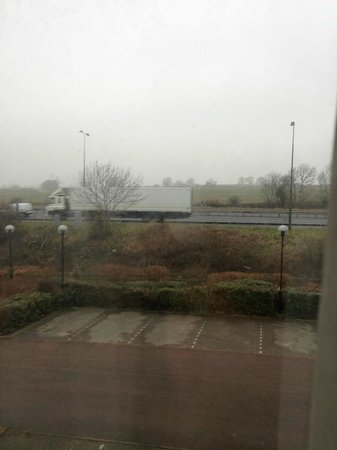 Long Eaton, UK : view from 239 - noise in room is very loud