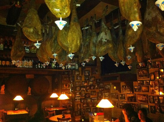 Vic, Spain: Jamon