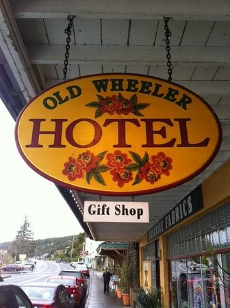 Old Wheeler Hotel - sign