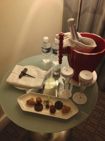 Hilton Paris La Defense : Special welcome gift