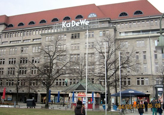exterior view of kadewe picture of kaufhaus des westens. Black Bedroom Furniture Sets. Home Design Ideas