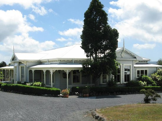 Waipoua Forest, Nueva Zelanda: Waipoua Lodge - a little bit of luxury etched in history