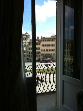 Grand Hotel Minerva: View from inside room