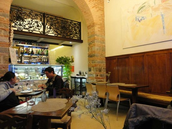 "Il Guelfo Bianco: Bistro Il Desco, local do ""Welcome Drink"""
