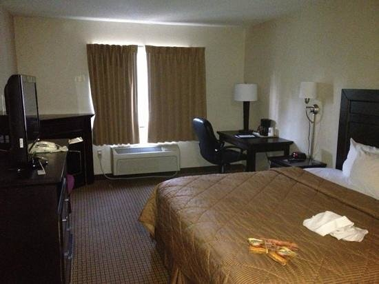 Comfort Inn Pittsfield: very nice room