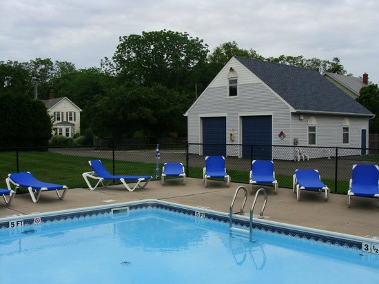 East Marion, État de New York : Pool of The Blue Inn At North Fork