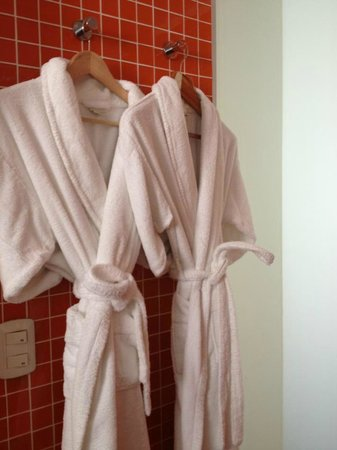 Hotel Vitrum: Comfy bathrobes