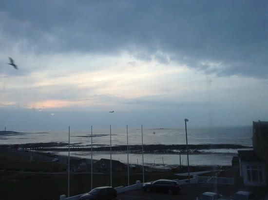 Lossiemouth, UK: View from room