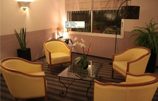 Hotel Cannes Centre: Salon / lobby