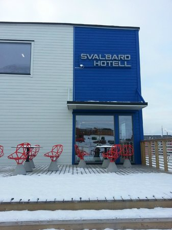 Svalbard Hotell: Hotel from the outside