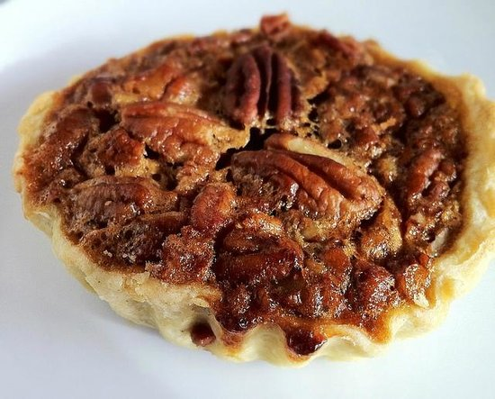 Bourbon pecan tart for dessert - Picture of Spring, Texas Gulf Coast ...