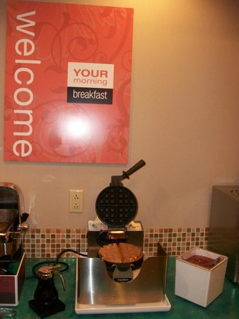 Comfort Inn & Suites: Waffles Are Always A Good Choice