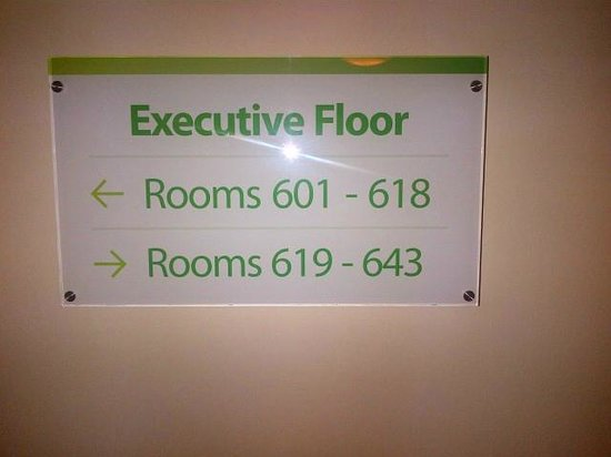 Holiday Inn London Bloomsbury: Executive floor