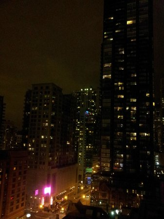 ACME Hotel Company Chicago: Chicago nightlights from my room