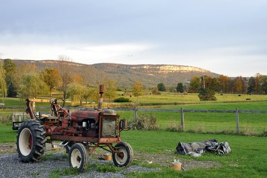 Wallkill, นิวยอร์ก: ANOTHER VIEW OF THE SHAWANGUNK AND MOHONK MOUNTAIN RANGE