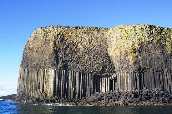 Fionnphort, UK: Amazing geology of Staffa