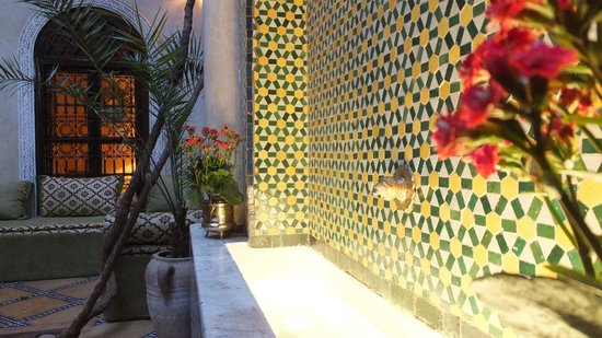 Riad Samsara: Courtyard