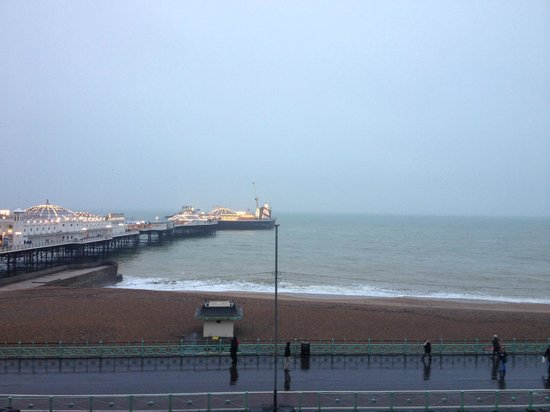 Royal Albion Hotel-Brighton: seaview