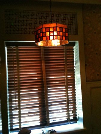 The Jane: WIndow with Wood Blinds