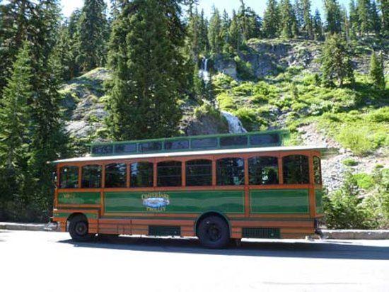 Crater Lake Trolley tours to Crater Lake and around Klamath Falls