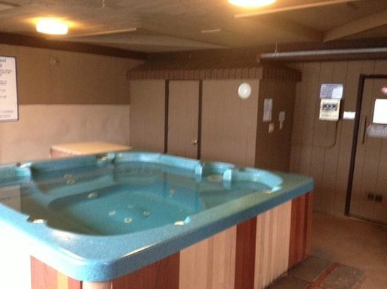 Lodge at Bretton Woods : Hot tub/Sauna area 