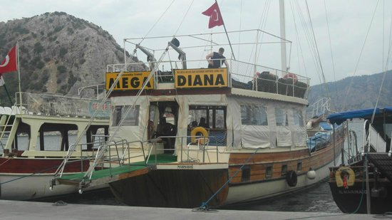 The view at one of the stops - Picture of Mega Diana Boat Trip-Private Tours,...