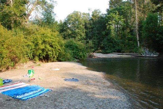 Cedar Grove RV Park & Campground: Little Qualicum River