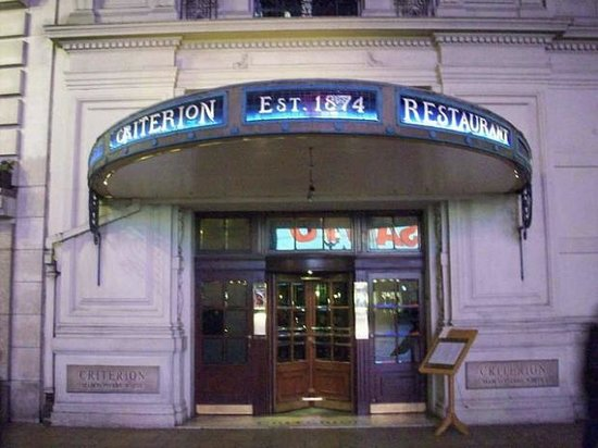 Photos of Criterion Restaurant, London