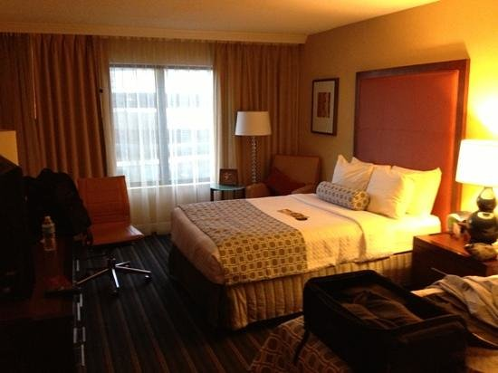 Crowne Plaza Hotel Fairfield: Double room