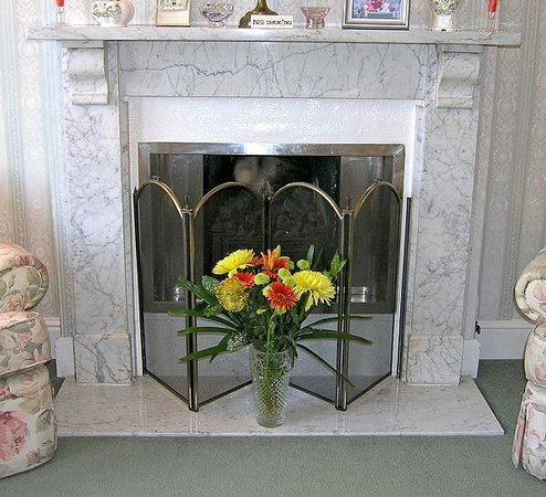 Glendevon Bed & Breakfast: Cosy fireplace in the Guest Lounge