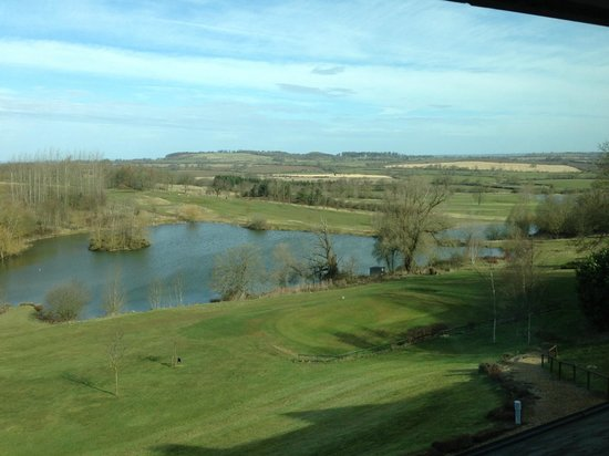 Hellidon, UK: view from room
