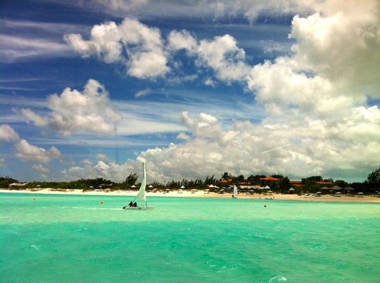 : Parrot Cay from Boat