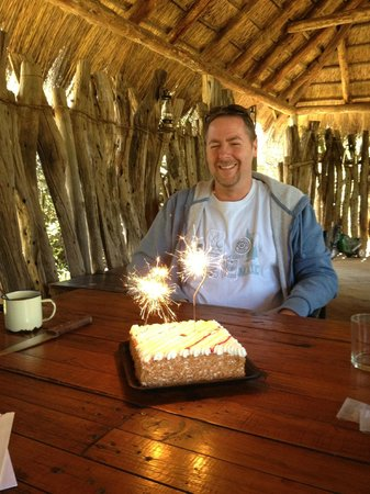 Amakhala Game Reserve, Sudáfrica: Happy Birthday