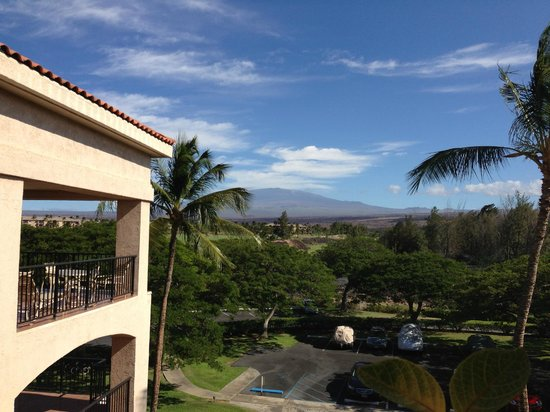 Aston Shores at Waikoloa: mt mauna kea?