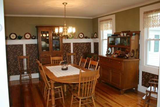 Olmstedville, NY: Dining Room