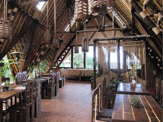 Banjar, Indonesien: Lounge Bar / Dining Room