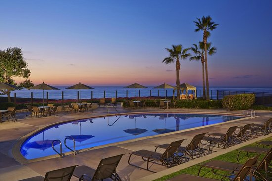 Carlsbad Seapointe Resort: Breathtaking Sunset from the Adult Pool Deck