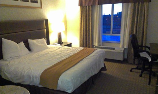 Holiday Inn Express Hotel &amp; Suites Ottawa Airport: Bedroom 02