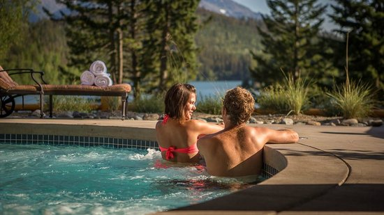 Gold Bridge, Canada: 22 Person Outdoor Hot Tub