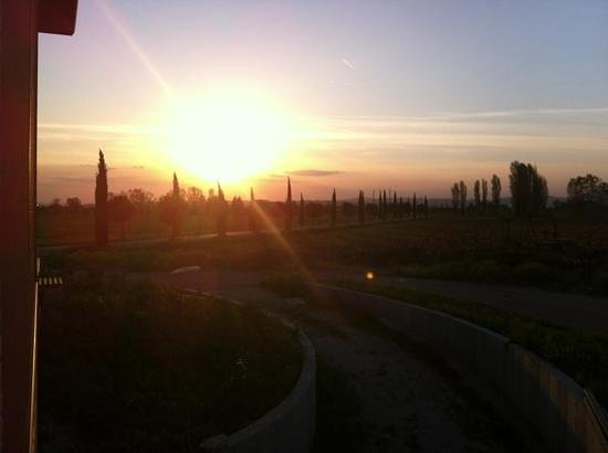 Valle di Assisi: tramonto suite benessere
