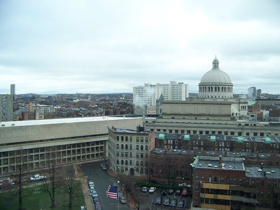 Sheraton Boston Hotel: view from our room