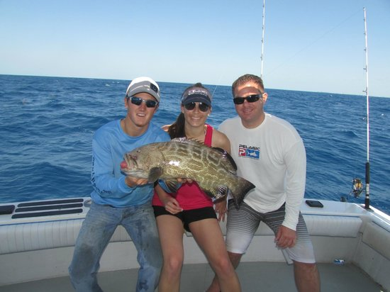 Wife 39 s catch picture of key west fishing connection for Seven fish key west fl
