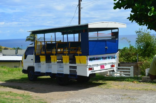 St. Kitts and Nevis: Javin's truck